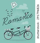 lovely concept design on... | Shutterstock .eps vector #291796826