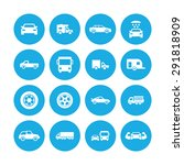 car icons universal set for web ... | Shutterstock . vector #291818909