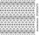 ethnic seamless pattern.... | Shutterstock .eps vector #291832673