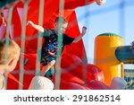 small blonde boy  6 8 years ... | Shutterstock . vector #291862514