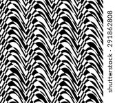 black and white alternating... | Shutterstock .eps vector #291862808