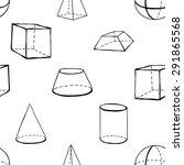 black outline hand drawn vector ... | Shutterstock .eps vector #291865568