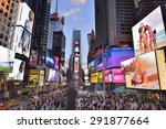 new york city  usa  april  28.... | Shutterstock . vector #291877664