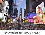 new york city  usa  april  28.... | Shutterstock . vector #291877664