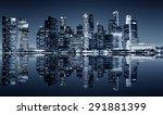 Panoramic Night View Of...