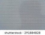 white metal plate with many... | Shutterstock . vector #291884828