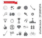 sport iconssport icons | Shutterstock .eps vector #291889694