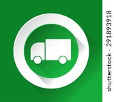 green circle shiny icon with... | Shutterstock .eps vector #291893918
