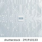 circuit board background... | Shutterstock .eps vector #291910133