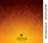 african art background design.... | Shutterstock .eps vector #291912698