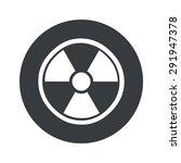image of radio hazard symbol in