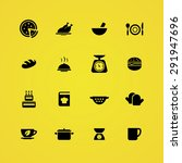 cooking icons universal set for ... | Shutterstock . vector #291947696