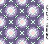 flowers geometric style...   Shutterstock .eps vector #291953348