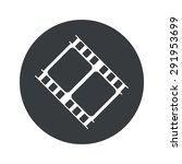 image of film strip fragment in ...