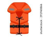 life jacket   Shutterstock .eps vector #291960866