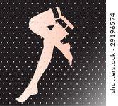 woman legs | Shutterstock .eps vector #29196574