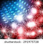 abstract image of the american... | Shutterstock .eps vector #291975728