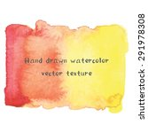 abstract watercolor art hand... | Shutterstock .eps vector #291978308