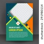 magazine  flyer  brochure ...   Shutterstock .eps vector #291980114