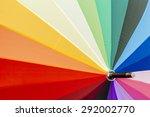 Rainbow Coloured Umbrella...