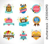 celebration festives holidays... | Shutterstock .eps vector #292004090