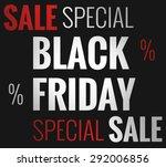 black friday | Shutterstock . vector #292006856