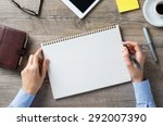 closeup shot of a woman taking... | Shutterstock . vector #292007390