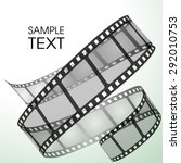 old film strip | Shutterstock .eps vector #292010753