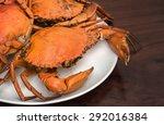 Hot Steamed Black Crabs