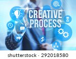 creative process creating new... | Shutterstock . vector #292018580