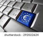 european union financial... | Shutterstock . vector #292022624