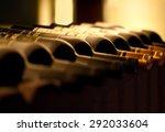 Bottles Red Wine A Wooden - Fine Art prints