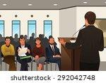 a vector illustration of... | Shutterstock .eps vector #292042748