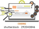 an illustration showing a...   Shutterstock .eps vector #292043846