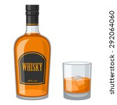 whisky | Shutterstock .eps vector #292064060