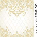 vector lace pattern in eastern... | Shutterstock .eps vector #292071548
