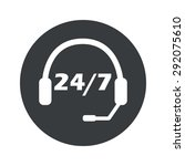 image of headset and text 24...
