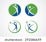 medical icons of people | Shutterstock .eps vector #292086659
