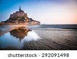 Normandy  France. Le Mont Sain...