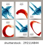 vector web and mobile interface ... | Shutterstock .eps vector #292114844
