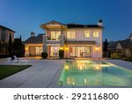 Luxurious And Modern House Wit...