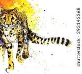 Cheetah T Shirt Graphics  ...