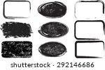 grunge rubber texture stamp . ... | Shutterstock .eps vector #292146686