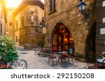 poble espanyol   traditional... | Shutterstock . vector #292150208