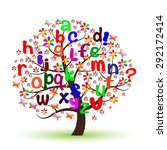 english alphabet | Shutterstock .eps vector #292172414