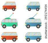 vector city vehicle | Shutterstock .eps vector #292174454
