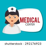 medical digital design  vector... | Shutterstock .eps vector #292176923