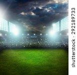 stadium  soccer  field. | Shutterstock . vector #292189733