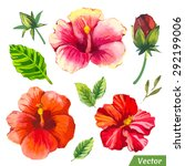 vector illustration with... | Shutterstock .eps vector #292199006