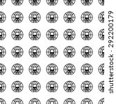 vector seamless pattern. tiling ... | Shutterstock .eps vector #292200179